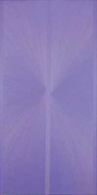Untitled (Lavender Butterfly Jacaranda over Green)